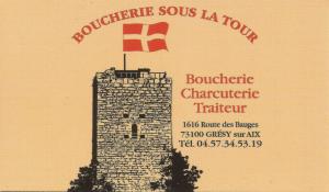 BOUCHERIE DE GRESY